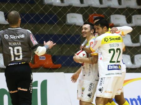 AACC Copagril vence o Carlos Barbosa fora de casa e se aproxima da classificação na Liga Nacional