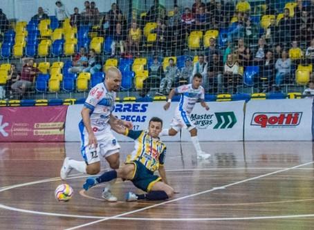 """São José dos Pinhais Futsal/Master Cargas terá """"mini Liga Nacional"""" nas próximas rodadas da Ouro"""