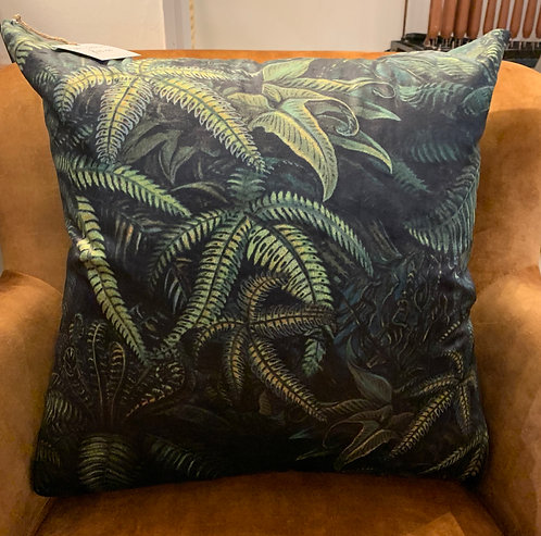 Velvet Fern Cushion
