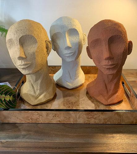 Face Art Statue