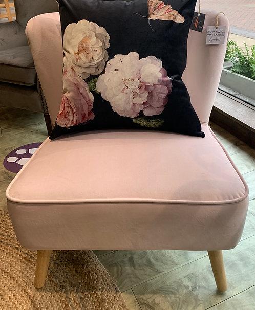 Blossom Velvet Cocktail Chair
