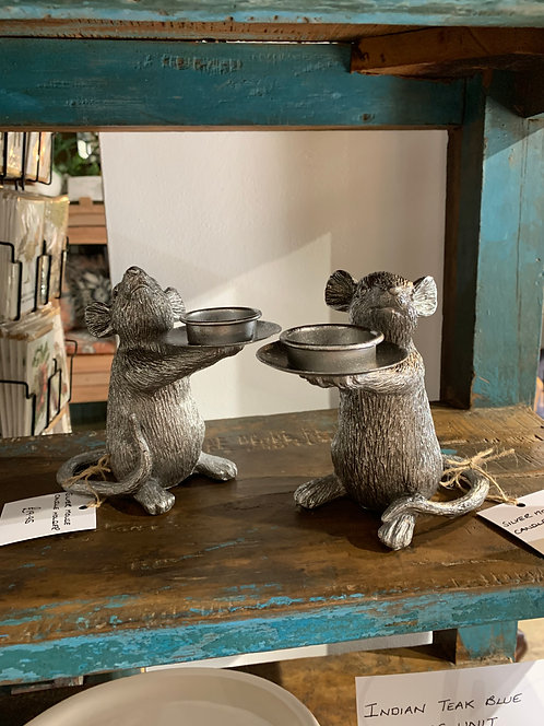 Mouse Candleholder