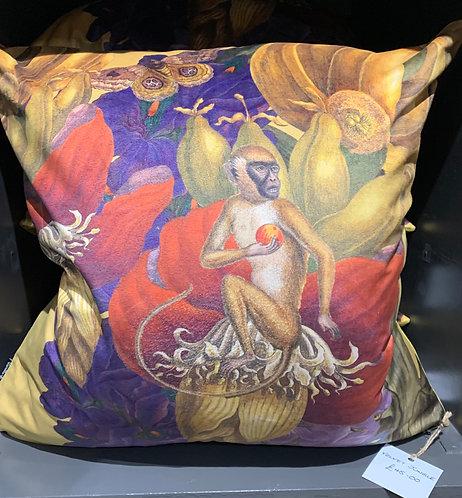 Jungle Velvet Cushion