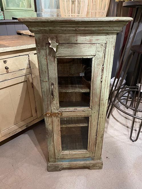 Mint Vintage Indian Teak Small Storage Cabinet