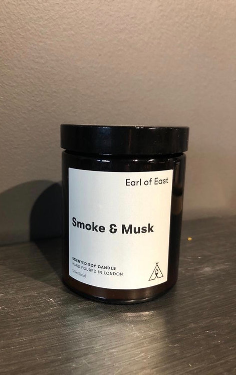 "Earl of East ""Smoke and Musk"" Candle"