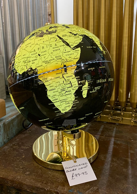 Illuminated Globe Lamp