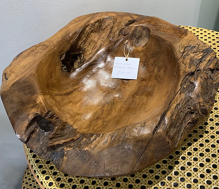 Tree Root Eroded Bowl
