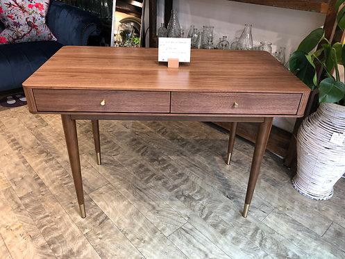 Mid-Century Two Drawer Desk