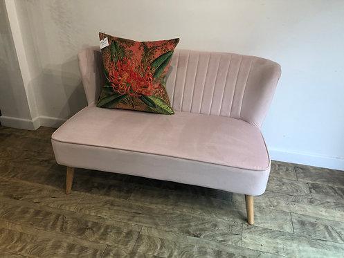 Blossom Velvet Love Seat