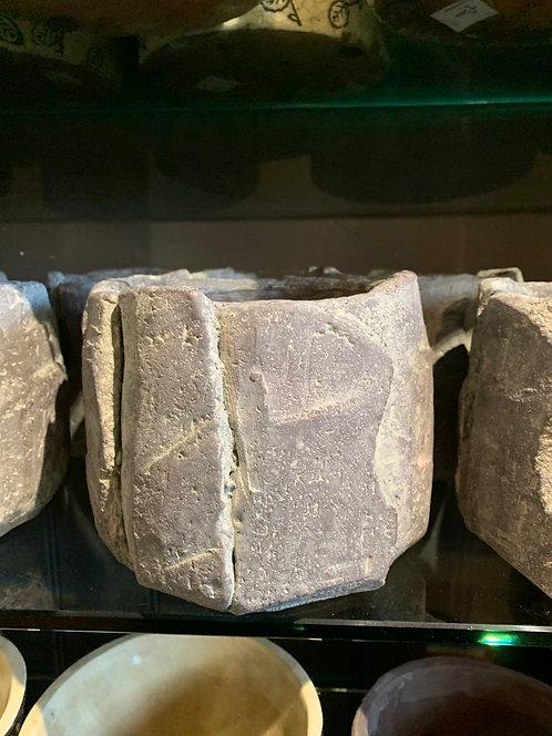 Grey Rock Pot