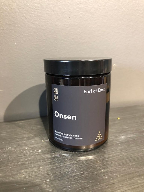 "Earl of East ""Onsen"" Candle"