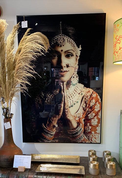 Indian Lady Wall Art