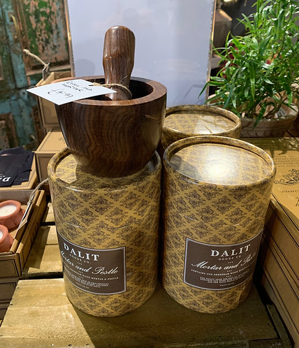 Dalit Mortar & Pestle