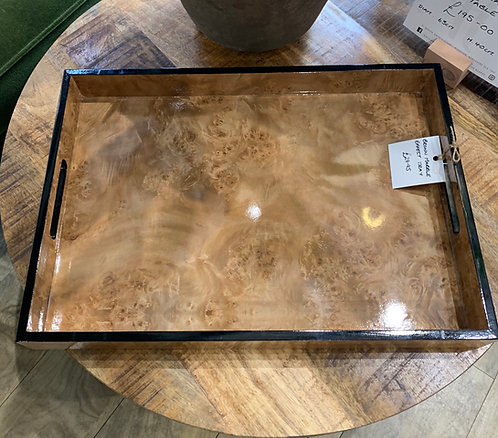Brown Marble Effect Tray