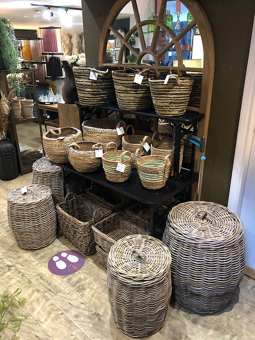 Collection of Basket Ware