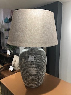 Tall Stone Table Lamp