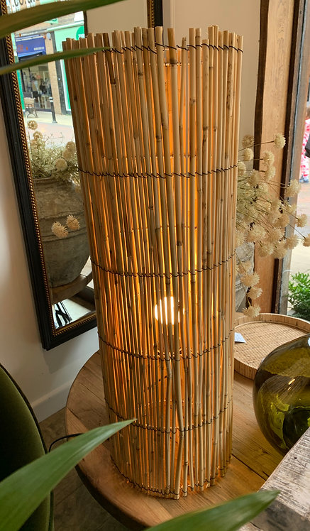 Large Reed Standing Lamp