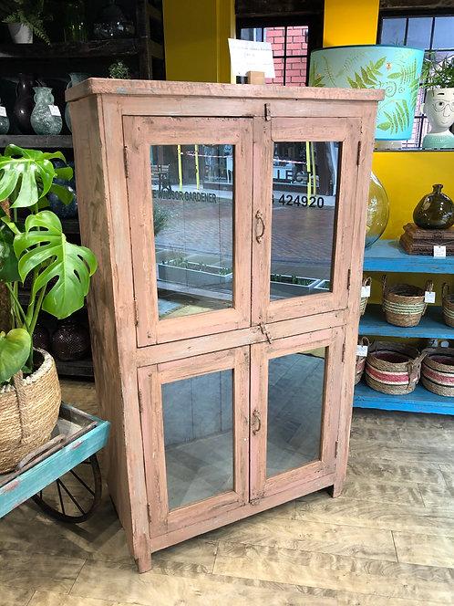 Pink Vintage Wooden Almirah