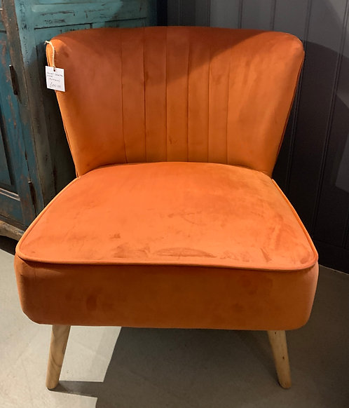 Pumpkin Cocktail Chair