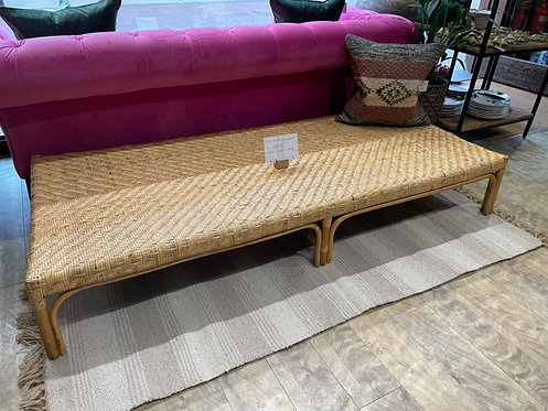 Honey Rattan Day Bed