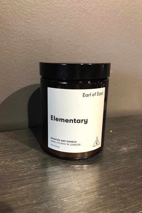 """Earl of East """"Elementary"""" Candle"""