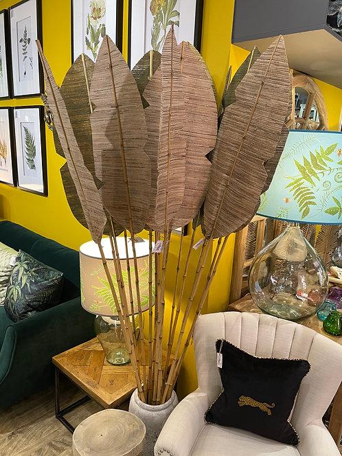 Bamboo Palm Leaf Decorations