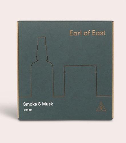 """Earl of East """"Smoke and Musk"""" Gift Set"""