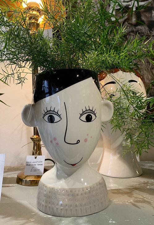 Miss Freckles Doodle Pot