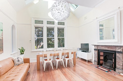 Renovated living room