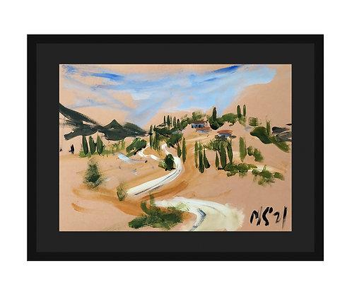 """Picturesque Tuscany"", 2021"