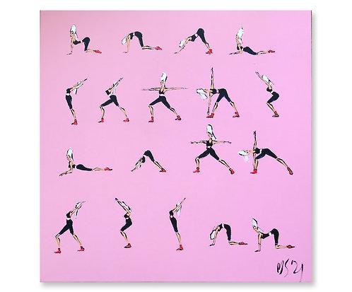 """Yoga"", 2021"