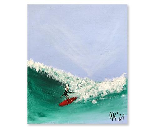 """""""Surfing"""", 2021"""
