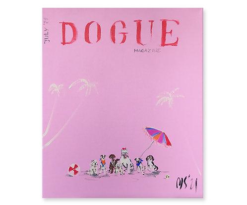 """Dogue magazine"", 2021"