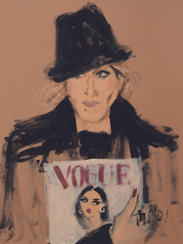 SOLD_Carrie with Vogue_29,7x42_Papier.jpg