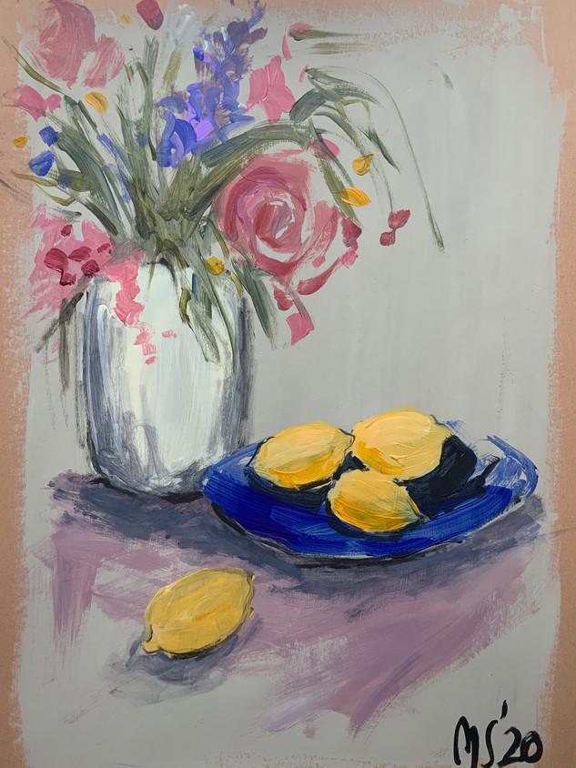 Stil-life with lemons