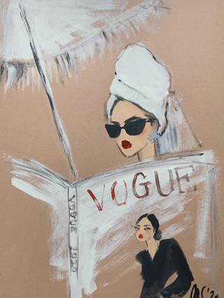 Vogue on vacay