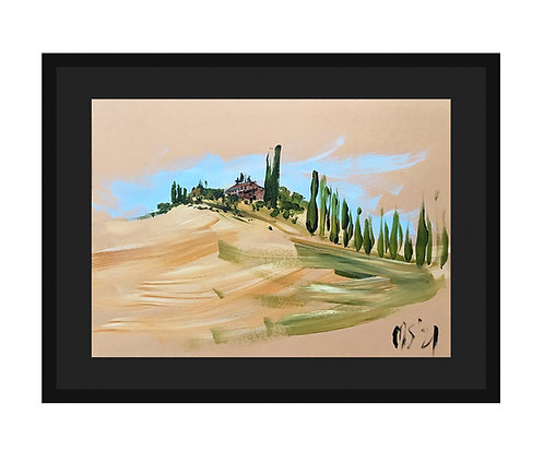 """""""Beautiful Val d'Orcia"""", 2021"""