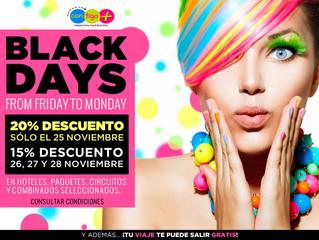 Apúntate a los Black days de Contigo+ y disfruta de las mejores ofertas!