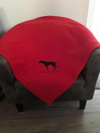 Red PRS Fleece Blanket