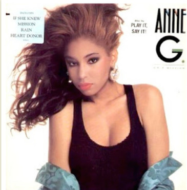 """Ann G - """"On a Mission"""" cover"""