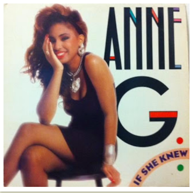 """Anne G - """"If She Knew"""" single cover"""