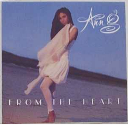 "Ann G - ""From The Heart"" cover"