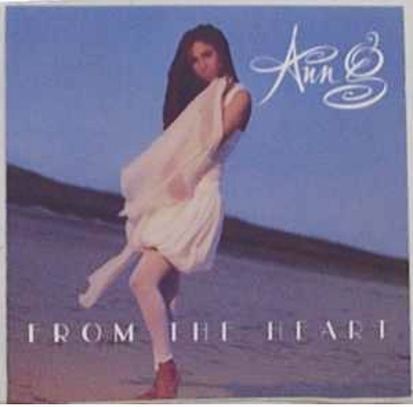 """Ann G - """"From The Heart"""" cover"""