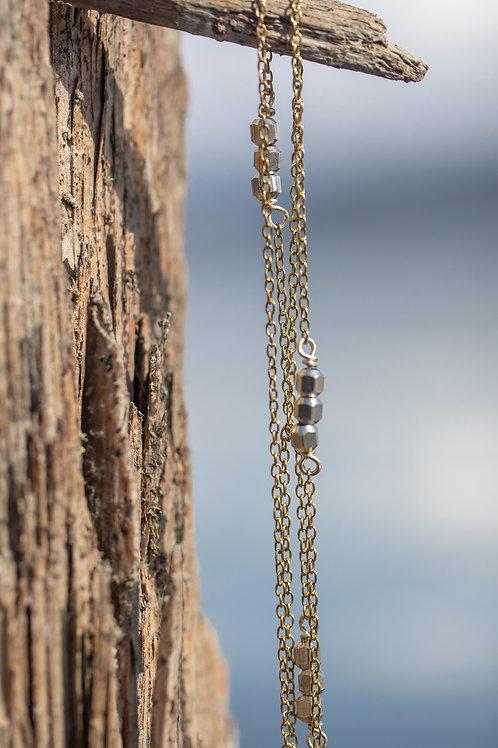Brass Bead Necklace