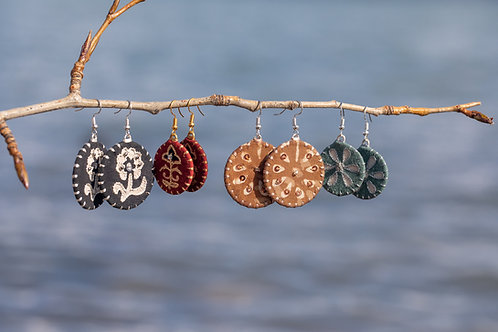 Circle Aari Earrings