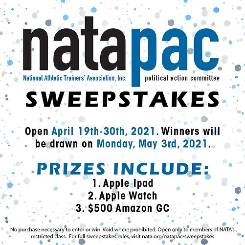 NATAPAC_Sweepstakes_Social Media Graphic