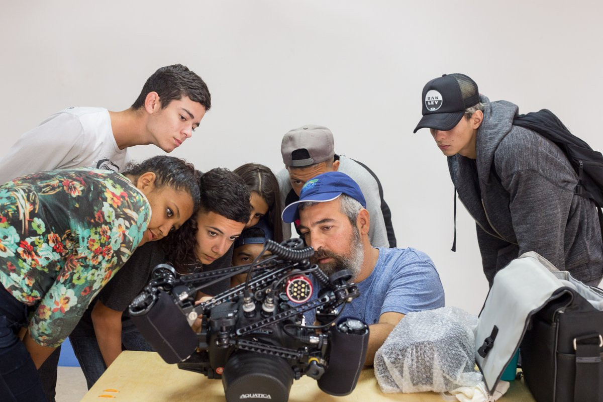 Casa do Jovem Fotógrafo - Onda Verde