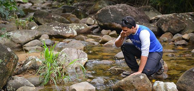 Monitoramento de água - Onda Verde