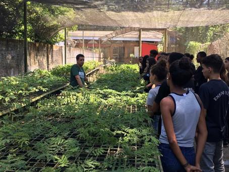 Educação Ambiental com o Colégio Estadual Engenheiro Arêa Leão