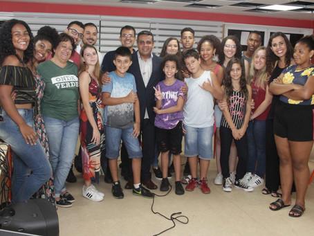 Formatura dos alunos do curso de Games da Casa da Inovação (SEMACTI – Nova Iguaçu ) – Unidade Tinguá